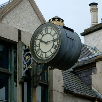 The Drum Clock in Merkinch