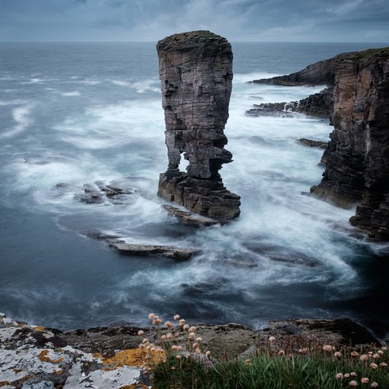 Yesnaby Castle, Yesnaby, Orkney by Christopher Swan
