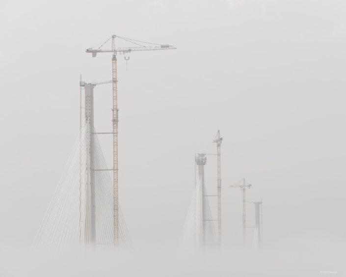 Cloud Construction,  South Queensferry by David Queenan
