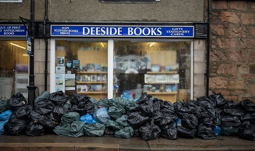 Deeside books had to bin 8,000 books after the floods last year