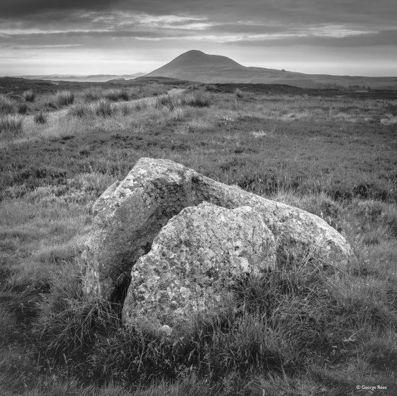 East Lomond Rock by George Rees