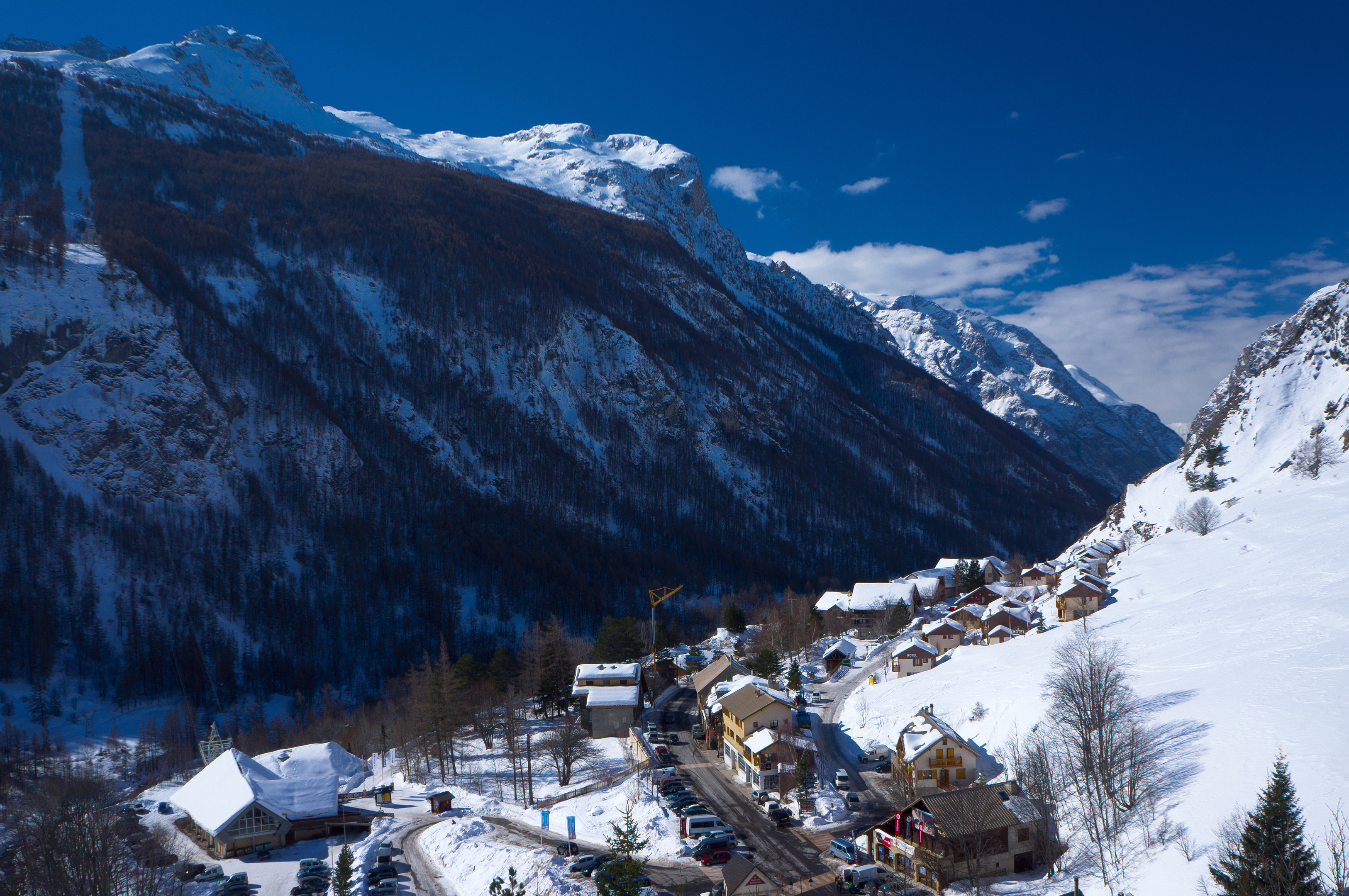 In the French Alps, two men were killed near the town of La Grave when an ice sheet broke off and crashed down on them