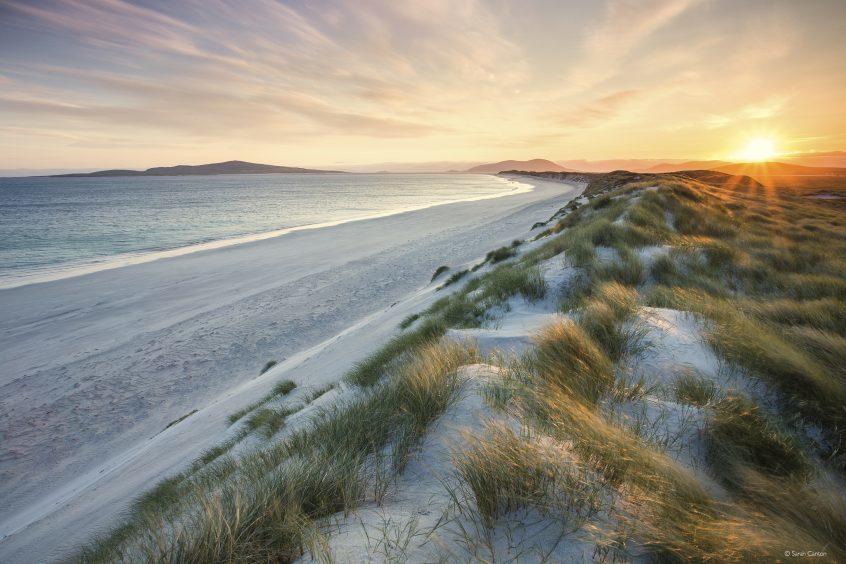 Hebridean Sunrise by Sarah Canton