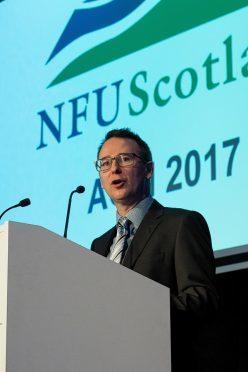 NFU Scotland chief executive Scott Walker