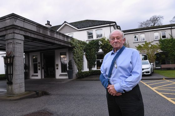 Stewart Spence at the Marcliffe Hotel