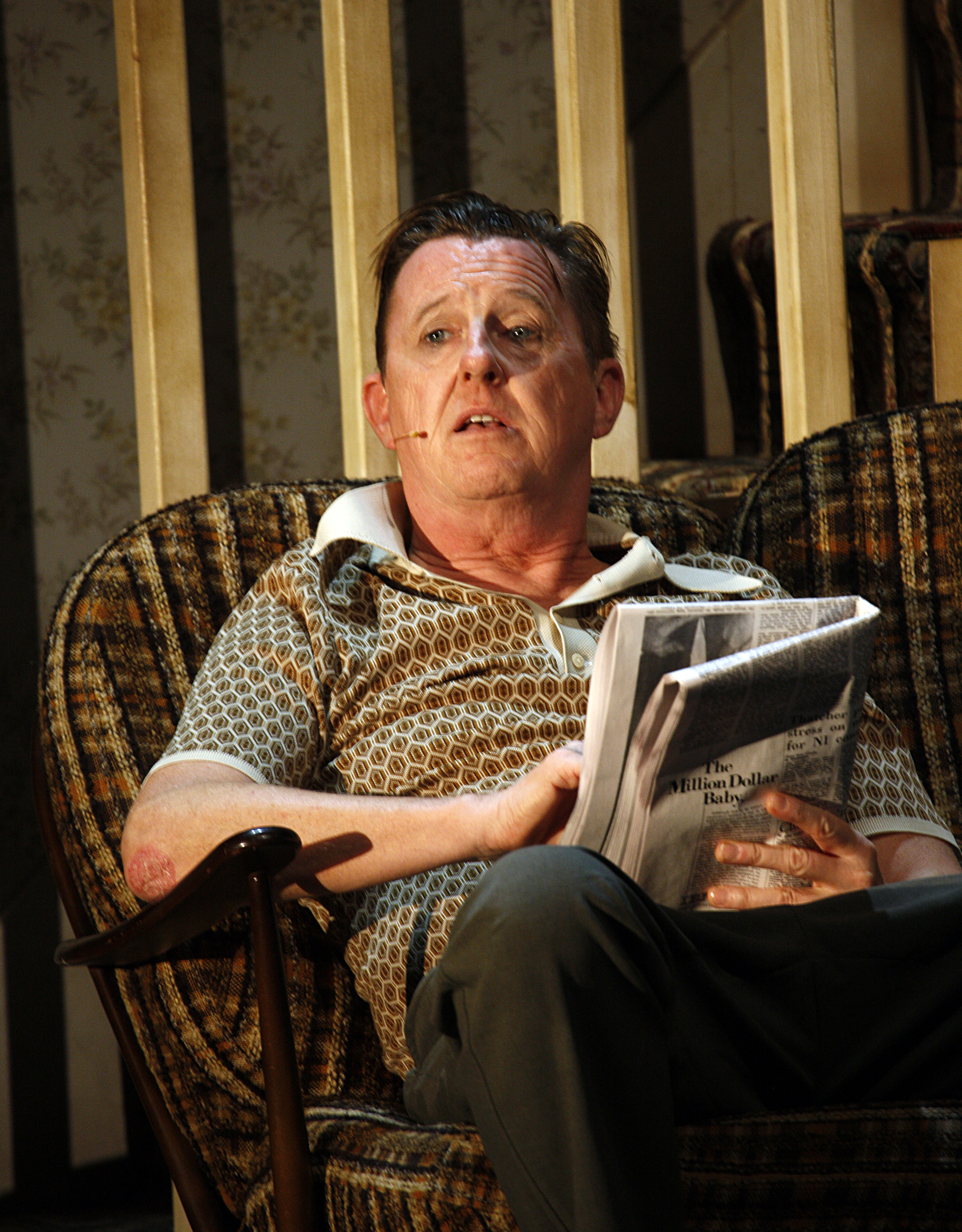 3. Jimmy's Da (Kevin Kennedy) in The Commitments photo credit Johan Persson