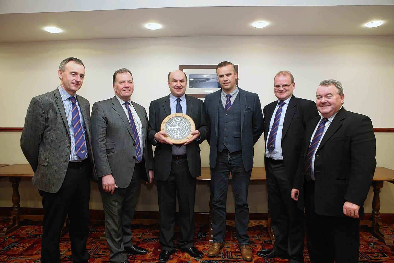 John Angus, John Gregor, Michael Delday, Robbie Stanger, Michael Sleigh and Alan Hutcheon.