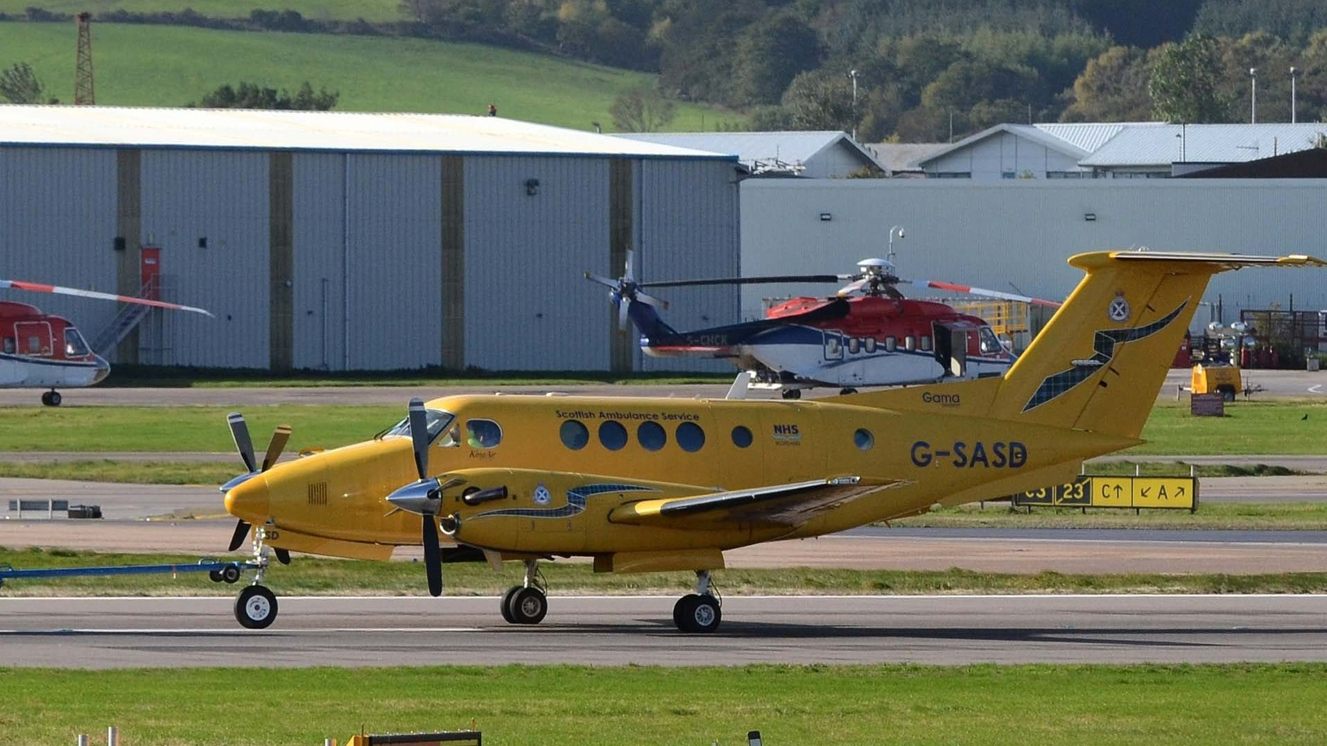 The Scottish Ambulance Service stressed that the air ambulance quickly diverted to Orkney after the error was revealed.