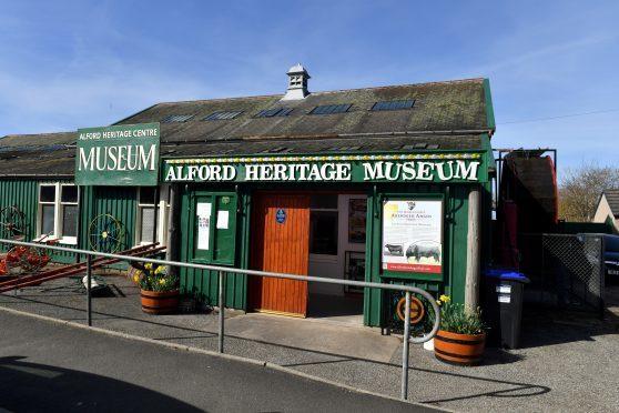 Alford Heritage Museum, Mart Road Alford.