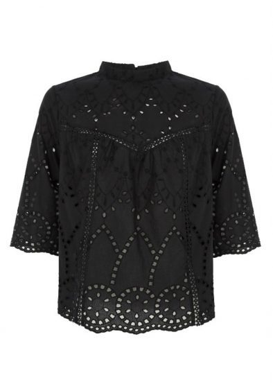 Black Lace Top, Marks and Spencer £69.00