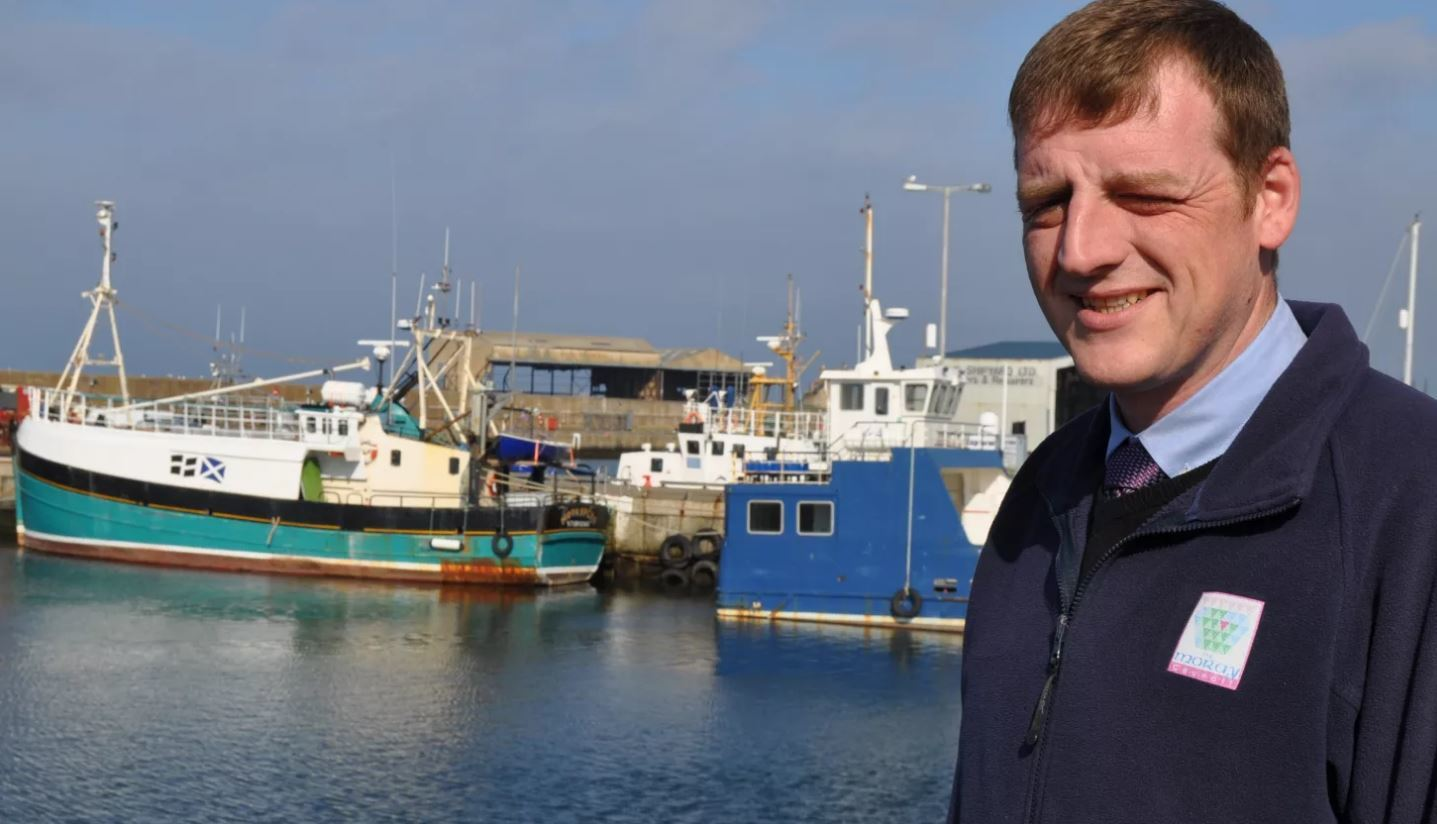 Darren Bremner is believed to be one of the youngest harbourmasters in Scotland.