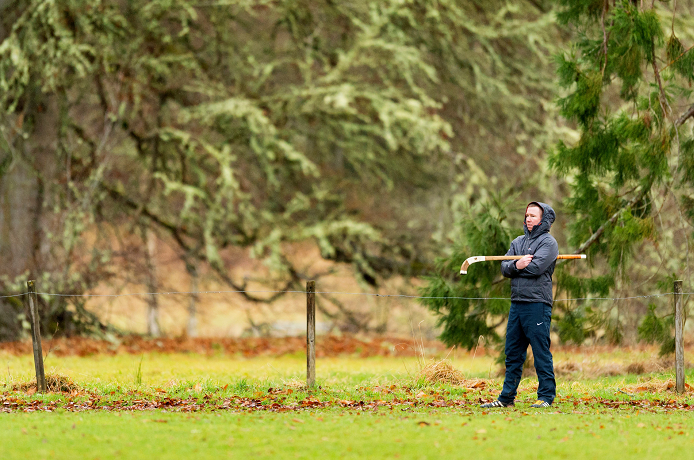 Caberfeidh manager Jodi Gorski in the grounds of Castle Leod