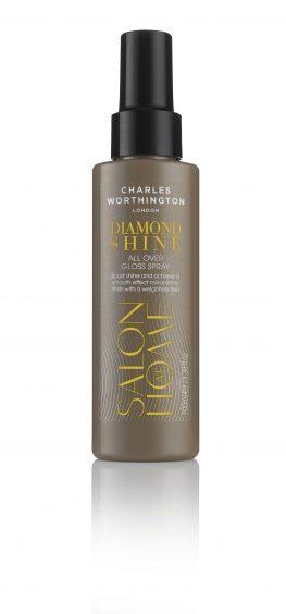 Charles Worthington Diamond Shine All Over Gloss Spray, £6.99, Boots (www.boots.com)