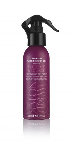 Charles Worthington Volume & Bounce Express Blow Dry Primer, £6.99, Boots (www.boots.com)