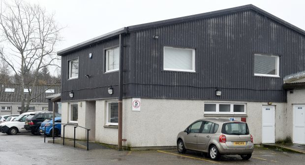 The Building Maintenance Depot of the Highland Council Housing and Property Services Department in Alness.