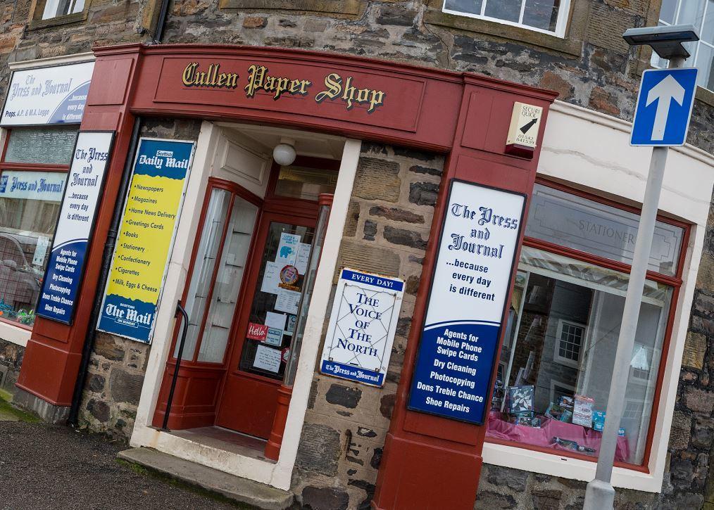 Cullen Paper Shop.