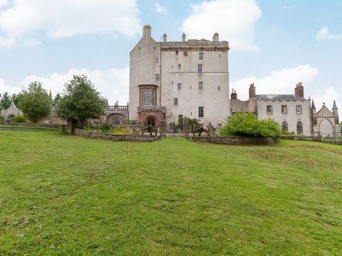 Delgatie Castle, near Turriff.