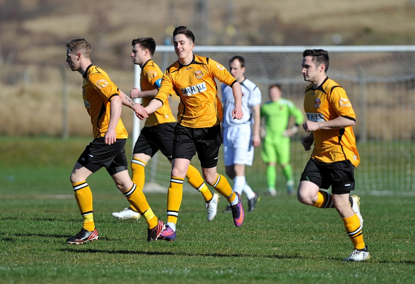 Fort William in action against Rothes