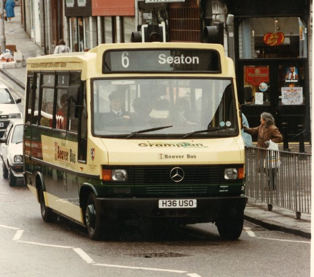 The city previously had Grampian buses