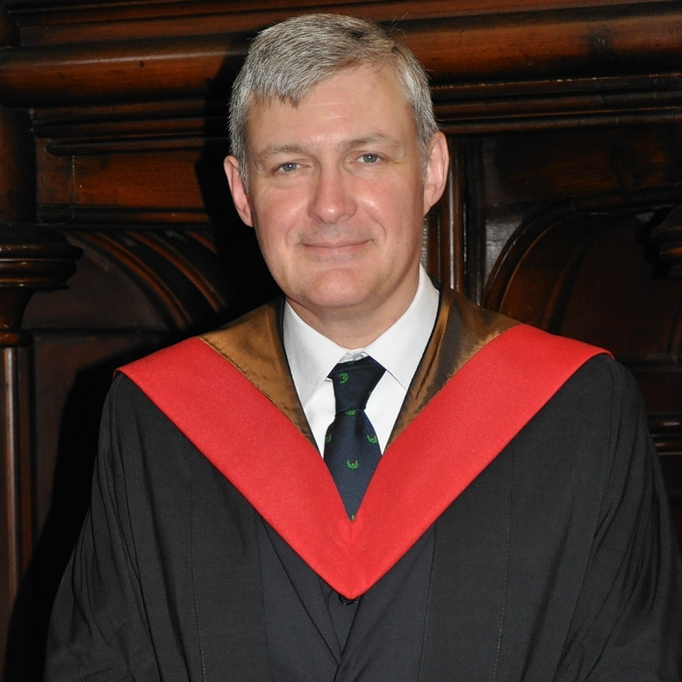 The late Rev Dr Iain D Campbell