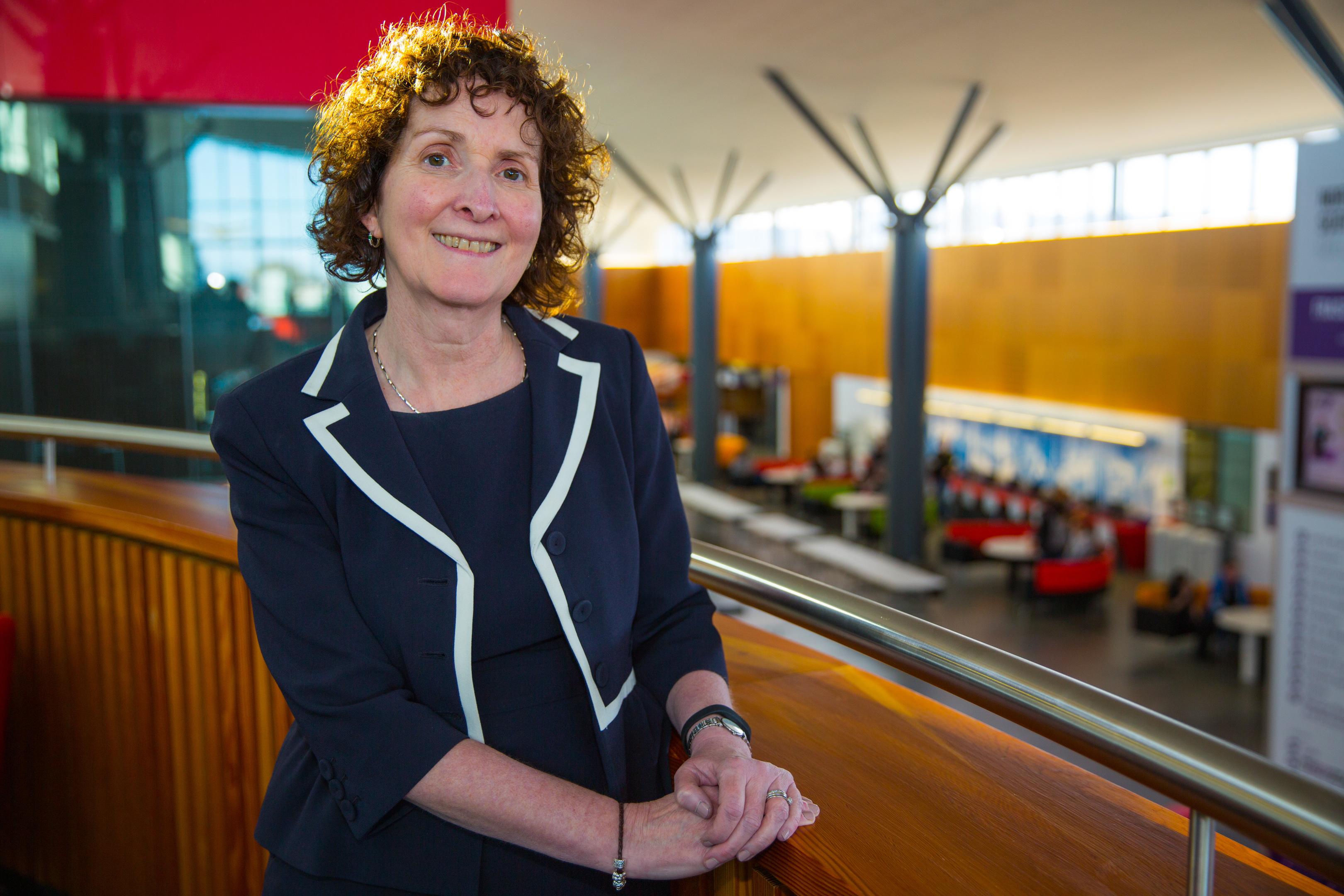 Nescol principal Liz McIntyre in Fraserburgh