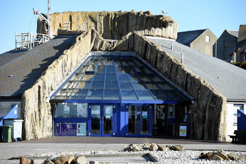 Macduff Marine Aquarium.