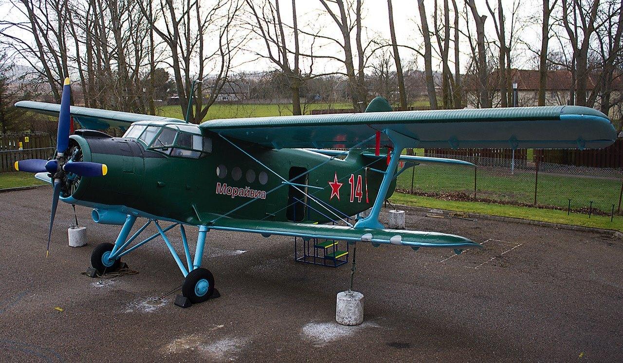 The Antonov 2 at Morayvia