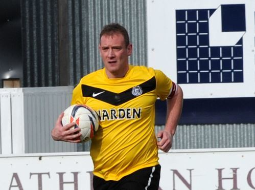 Michael Morrison during his spell at Nairn County.