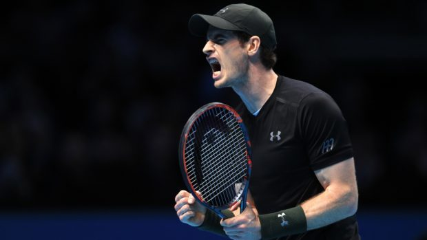 Andy Murray was back in Grand Slam action in New York.
