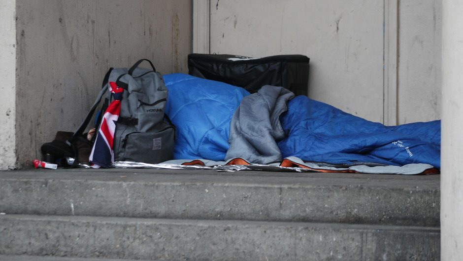 Campaigners criticised the move during a time when people rough sleeping is on the rise