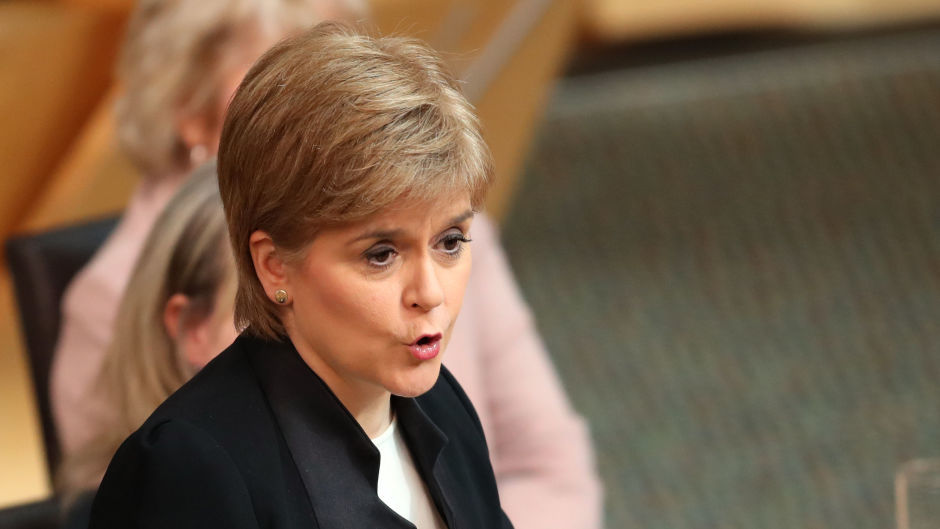"""First Minister Nicola Sturgeon said it was """"vital"""" that the Scotch sector is safe from """"deception and unfair competition"""" under the terms of a future trade deal"""