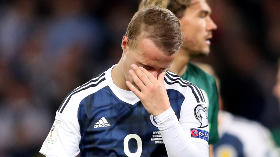 Scotland's Leigh Griffiths enjoyed a good qualifying campaing but the team came up short yet again.