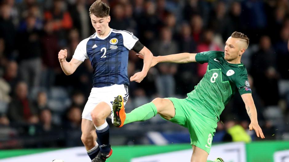 Scotland defender Kieran Tierney.