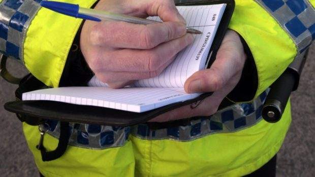 Police are searching woods in Milltimber for two men