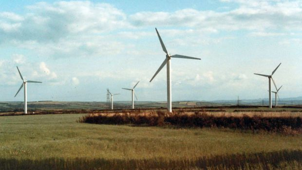 Increased capacity and stronger winds have boosted output from turbines.