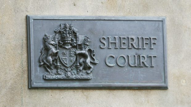 The case was heard at Banff Sheriff Court