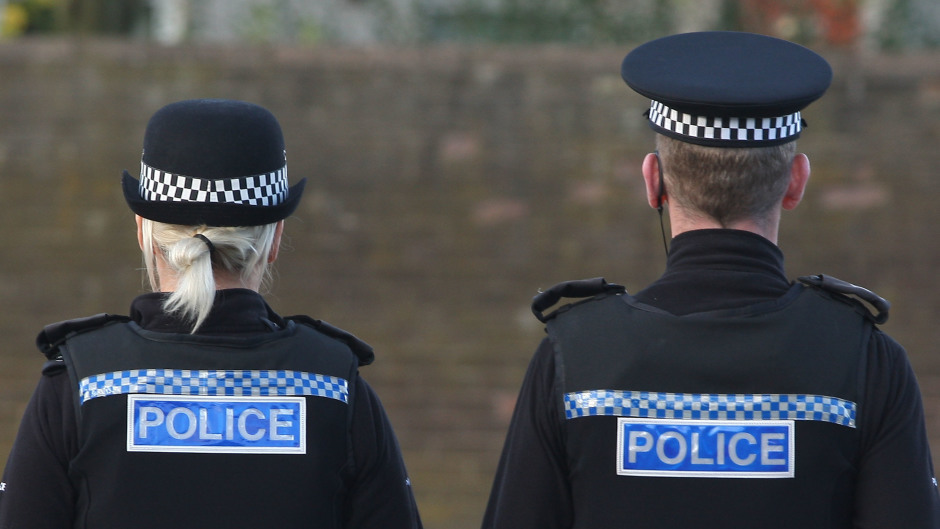 A man has been arrested after a person was assaulted in Inverurie