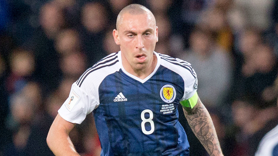Scott Brown will miss Scotland's World Cup double header next week