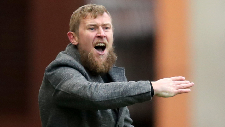 Inverness manager Richie Foran.