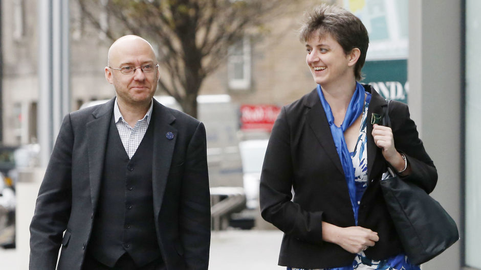 Patrick Harvie and Maggie Chapman are both expected to deliver an address at the Scottish Greens' spring conference