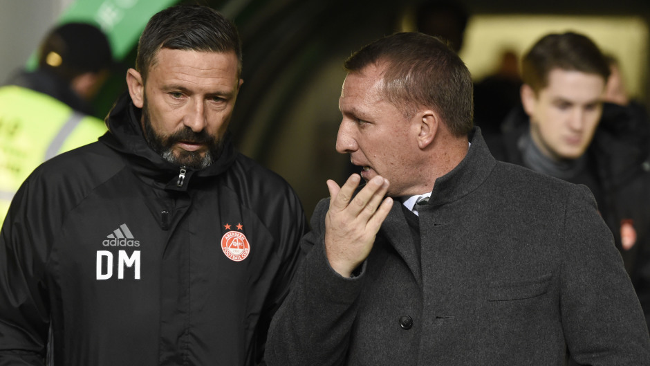 Derek McInnes believes Arsenal will consider the Celtic manager as a replacement for Arsene Wenger.