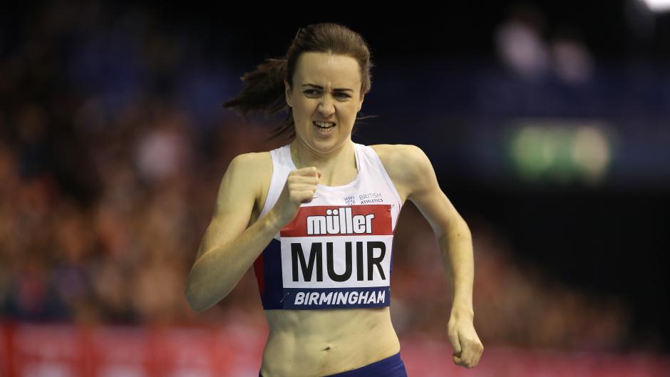 Laura Muir won gold for Britain in Belgrade