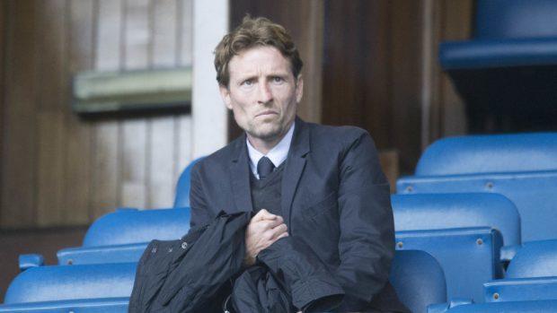 Scotland under-21s manager Scot Gemmill.
