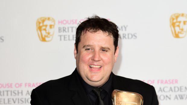 Comedian Peter Kay