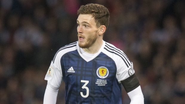 Defender Andy Robertson has been linked with a move to Liverpool.