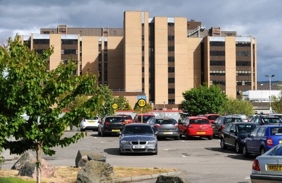 Raigmore Hospital in Inverness