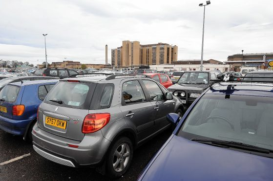 More than 200 spaces for car parking at Raigmore Hospital will become operational by the end of the month