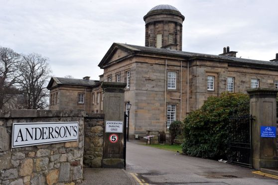 Anderson's Care Home in Elgin.