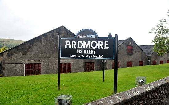 Ardmore Distillery is no longer being considered as a conservation area