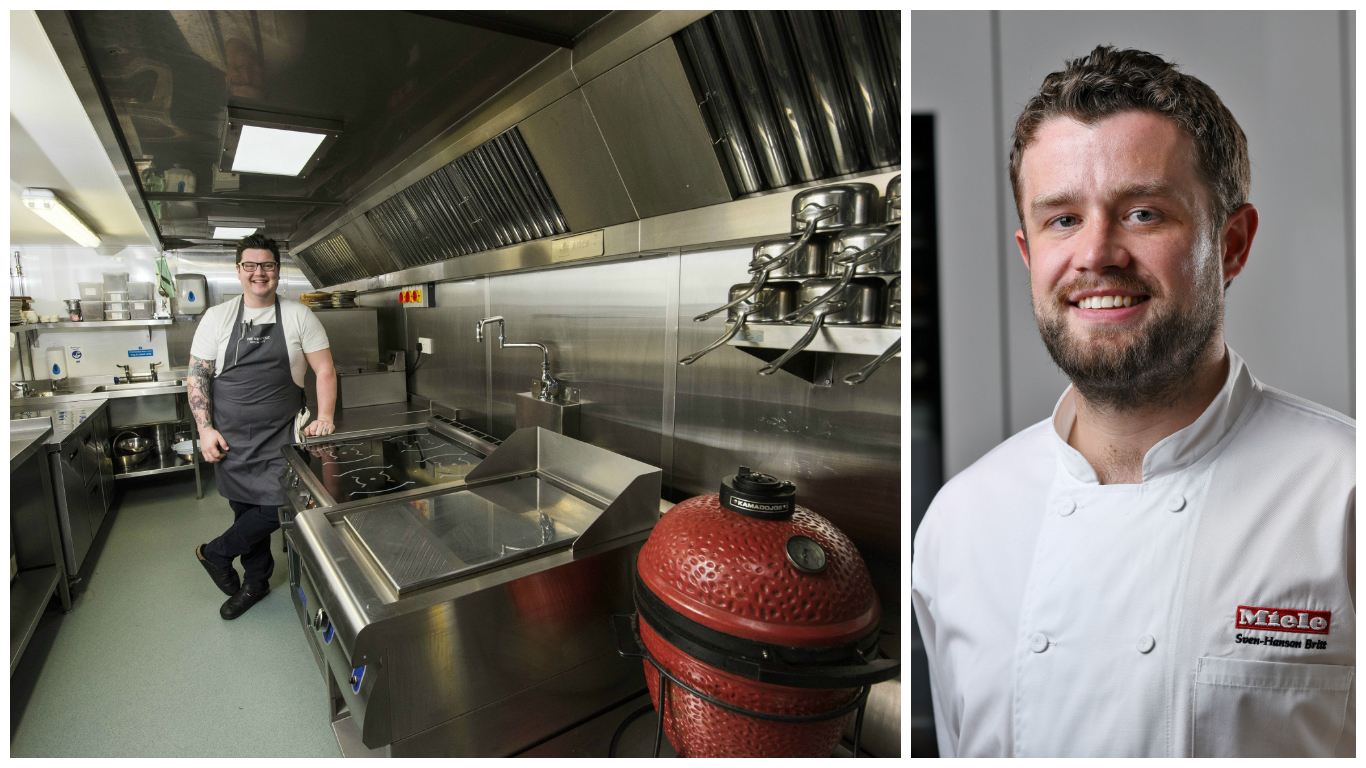 Laings of Inverurie will reunite Masterchef: The Professionals winner Jamie Scott and fellow finalist Sven-Hanson Britt for the company's second annual Laings Saturday Kitchen event.